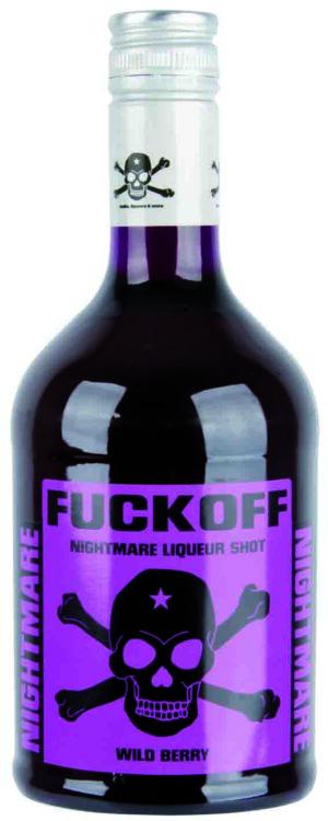 Fuck Off, Nightmare Likör 70cl 15% Vol