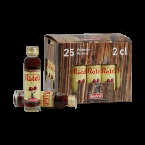 Kindschi Bündner Röteli 22% Vol. 25 x 2 cl Portion