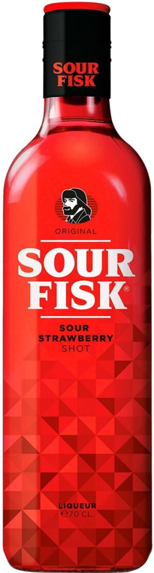 Fisk Sour Strawberry 70 cl 15% Vol.