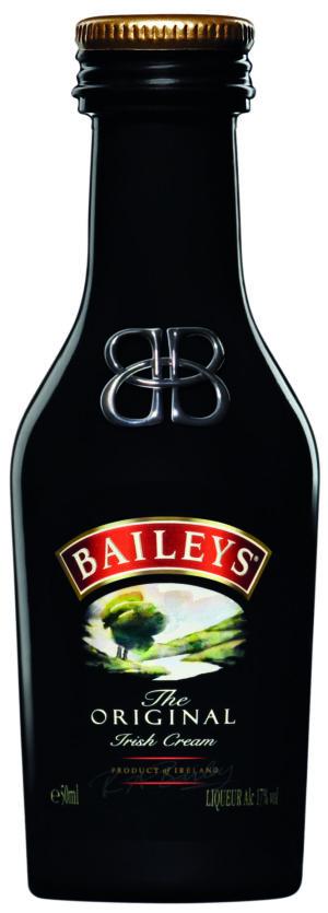 Baileys Original Irish Cream 20er Pack mit je 5 cl 17% Vol.