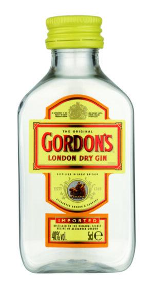 Gin GORDON's Dry 12er Pack mit je 5 cl 37,5% Vol.