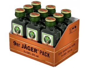 Jägermeister 35% Vol. 9 x 2 cl