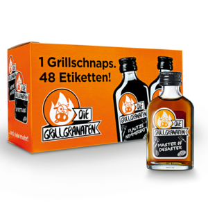 Die Grillgranaten Mini 12er Pack mit 2cl 30% Vol.