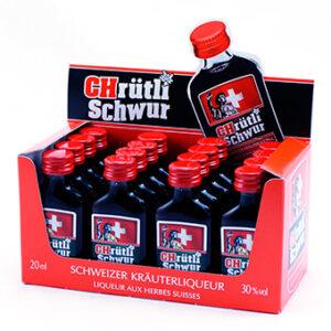 CHrütli Schwur 16er Pack mit 2cl 30% Vol.