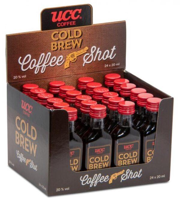 Cold Brew Coffee mit Vodka 24er Pack mit 2 cl 20% Vol.