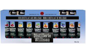 Distillerie Willisau Stange assortiert 37,5% Vol. 10 x 2 cl
