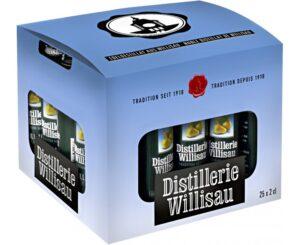 Distillerie Willisau Williams 37,5% Vol. 25 x 2 cl