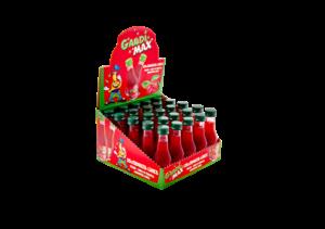 Gaudi Max Erdbeer-Limes 15% Vol. 25 x  2 cl