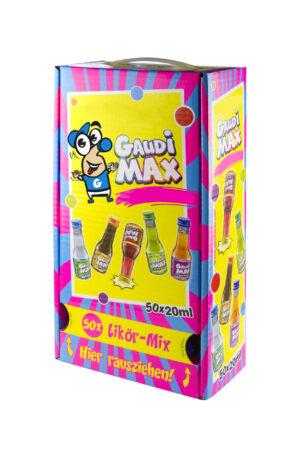 Gaudi Max Party Box 50 x 2 cl Shot`s