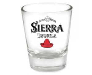 Sierra Tequila Shotglas 8 Stück mit je 2 cl