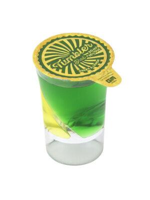 GM Tumbler Shot Drinks grünem Vodka- und saurem Zitronenlikör 24er Pack 3cl 16% Vol