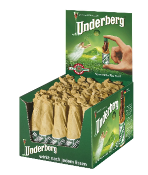 Underberg Flacon 44% Vol. 30 x 2 cl