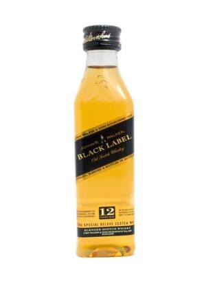 Johnnie Walker Black Label 40% Vol. 12 x 5 cl Portion