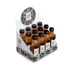 Gin 27 Woodland Appenzell Dry Gin 12er Pack mit 4cl 43% Vol.