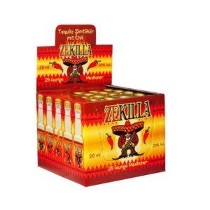 Zekilla Shots 22% Vol. 25 x 2 cl