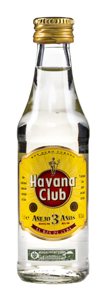 Havana Club Añejo 3 Años Rum 20er Pack mit je 5 cl 40% Vol.