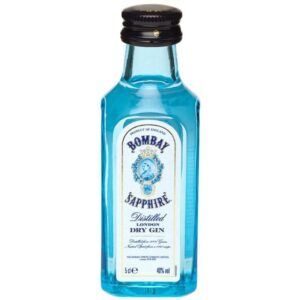 Gin Bombay Sapphire 10er Pack mit je 5 cl 40% Vol.