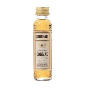 Godeau Cognac 25er Pack mit je 2 cl 40% Vol.