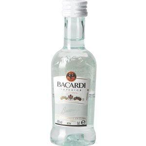 Bacardi Carta Blanca 10er Pack mit je 5 cl 37,5% Vol.