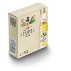 Kräuter Honig 35% Vol. 30er Pack je 2 cl
