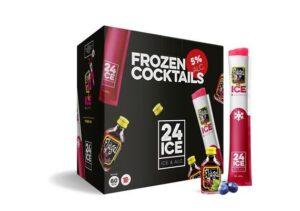 Frozen Cocktails Ice24 Flügel 50er Pack mit 6,5 cl 5% Vol.