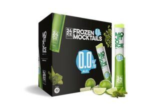 Frozen Mocktails Ice24 Mojito 50er Pack mit 6,5 cl alkoholfrei